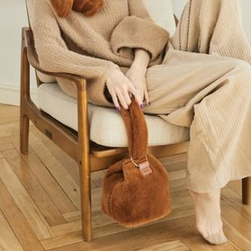Fur Bubble Bag (Brown)-20%할인