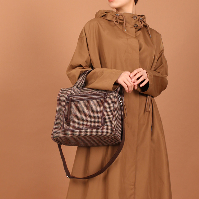 Check Essential M Bag (Dark Brown) 20%Sale
